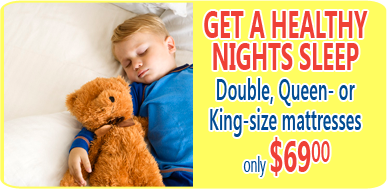 mattress steam cleaning from $69 for double, queen or king