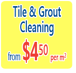 tile cleaning from $5 per square meter
